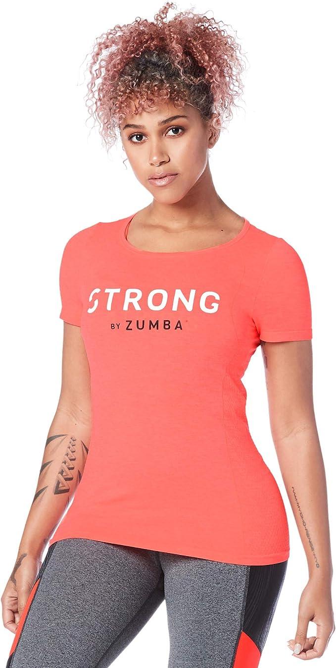STRONG by Zumba Pantaloni Sportivi da Allenamento con Grafica per Donna