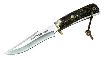 Amazon.com: Muela pointer-13 a Fixed Blade cuchillo de caza ...