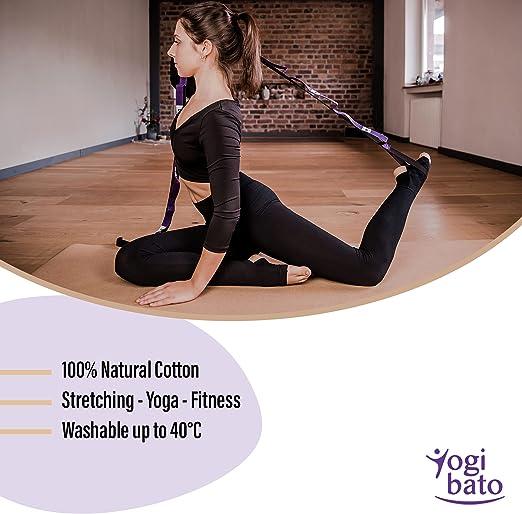 SBRTL Yoga Gurt Leg Stretcher Stretch Band Tief Stretch Leicht Zu Bedienen Physiotherapie G/ürtel Fitness Elastic Band Steigert Die Flexibilit/ät F/ür Alle Altersgruppen,A