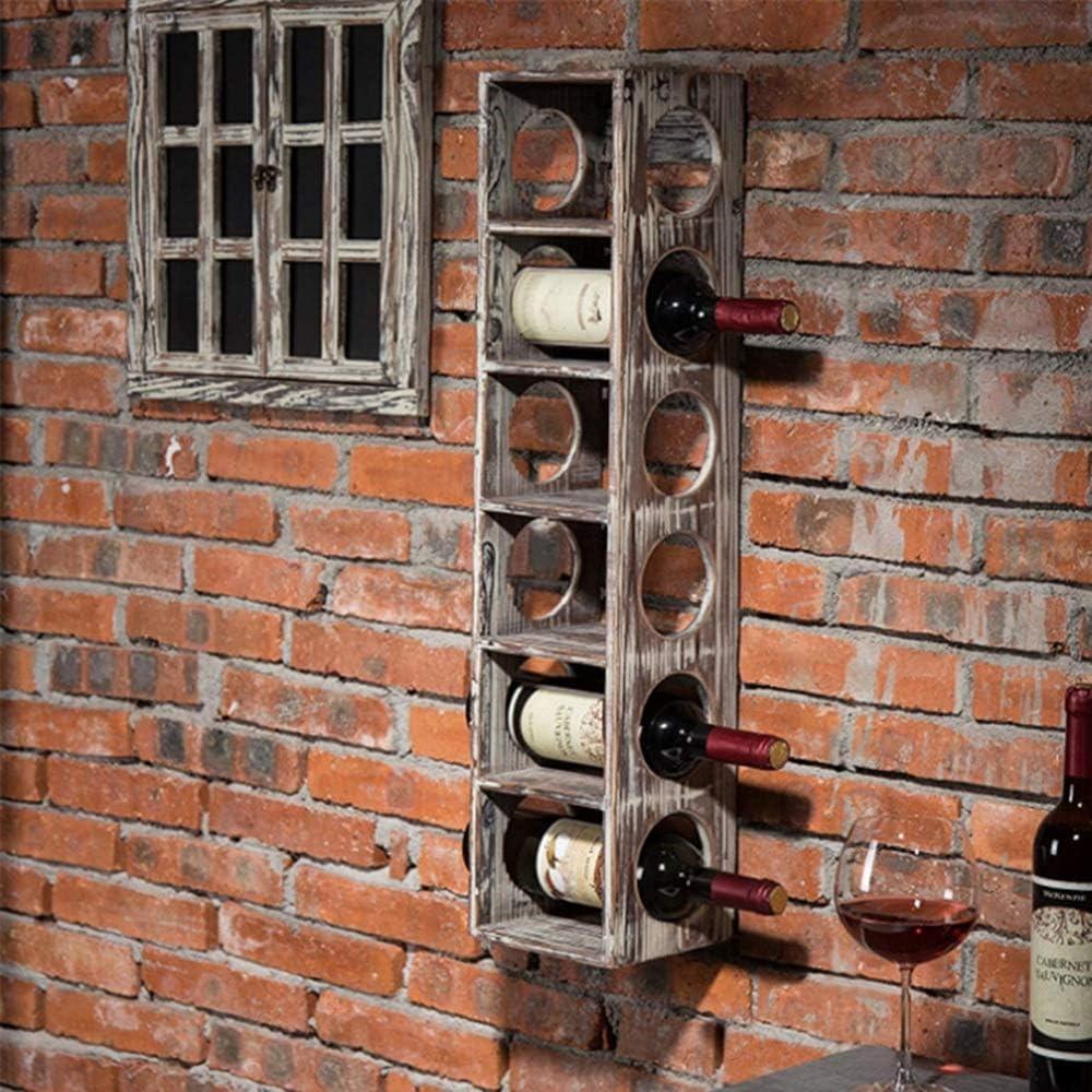 Yingkou 置物 ペンダントレトロ北欧スタイルの装飾的なワインは、75 * 15 * 23(cm)のウォールマウントすることができます