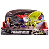 Spin Master 6024753 - DreamWorks Dragons - Toothless vs Armored Dragon Set