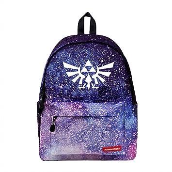 3fc2a6e647cd Amazon.com: Siawasey Japanese Anime Cosplay Luminous Backpack ...