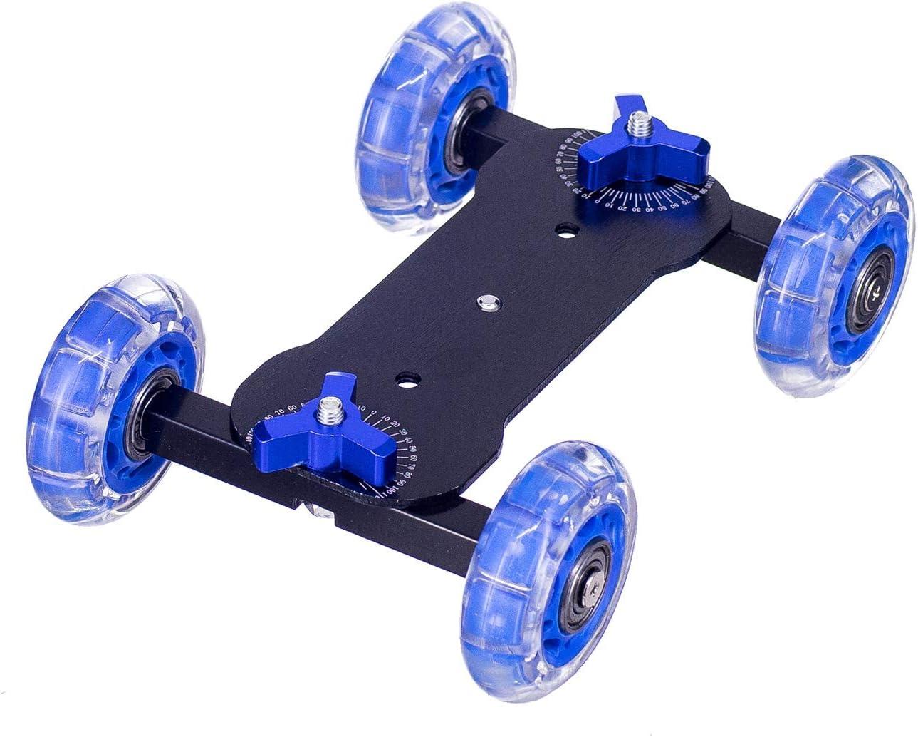 Control Deslizante de cámara Dolly, ZXIANGK Track Skater Dolly con ...