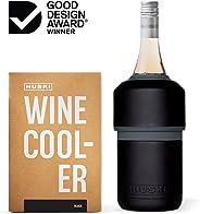 Huski Wine Cooler | Premium Iceless Wine Chiller | Keeps Wine or Champagne Bottle Cold up to 6 Hours | Award Winning Design