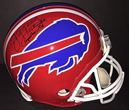 e418403c8ca Image Unavailable. Image not available for. Color  Jim Kelly Autographed  Buffalo Bills ...
