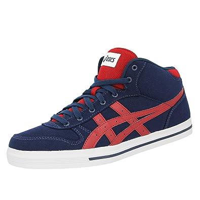 2e35370e0cf283 ASICS Aaron MT Blau Wildleder Herren Sneakers Schuhe  Amazon.de ...