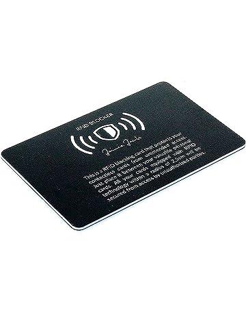 Jaimie Jacobs® RFID de Blocker RFID Tarjeta de protección para Tarjetas de crédito NFC de