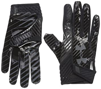 f192c48edd181 Under Armour - Spotlight Men's American Football Gloves Black ...