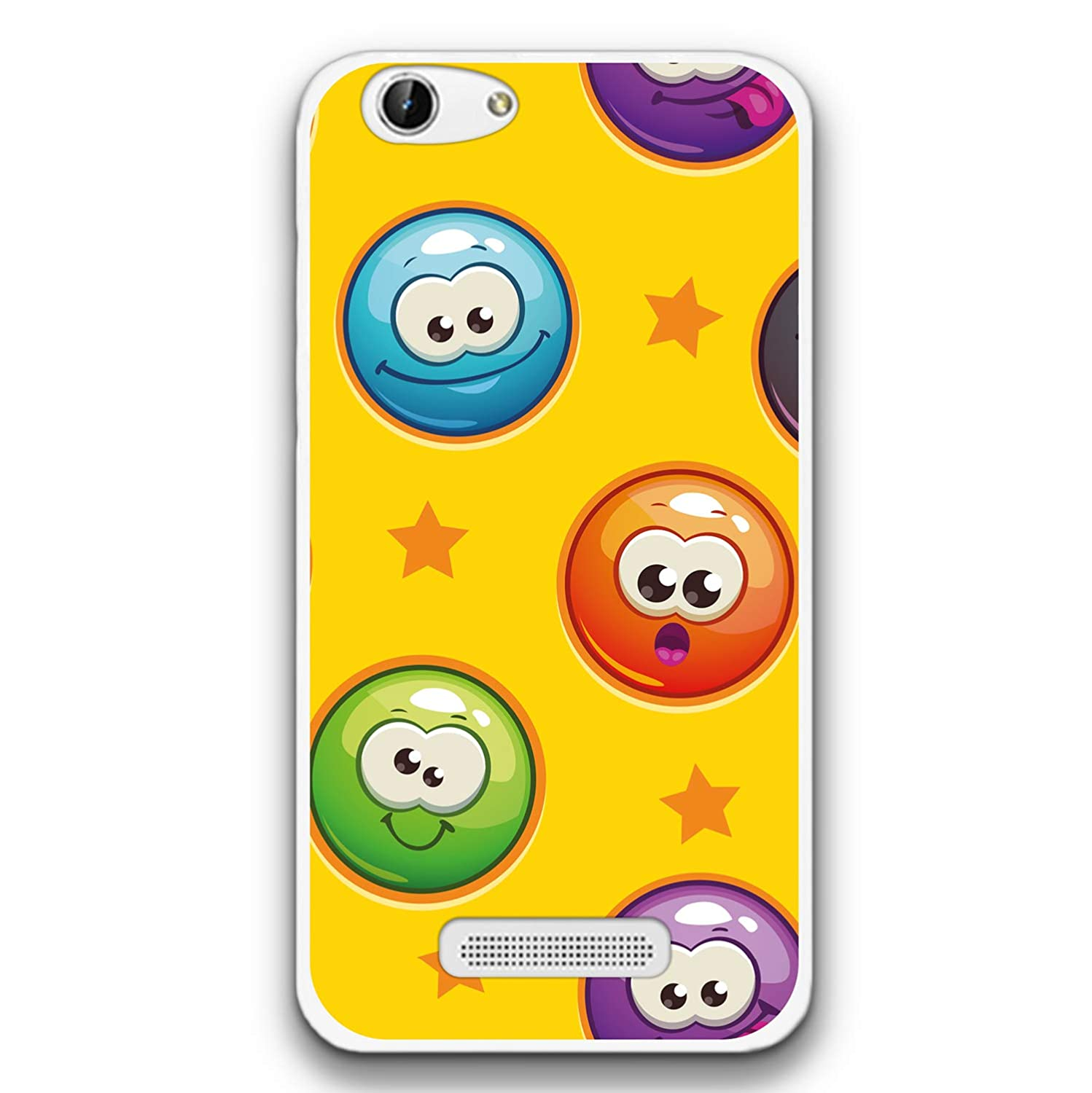 FidelStick Funda Carcasa Gel para Cubot Note S, Emoticon ...