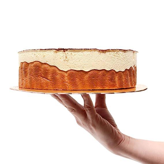 Cake board redondo,Láminas para base de tarta Ø 15 + 20 + 25 + 30 cm (dorado): Amazon.es: Hogar