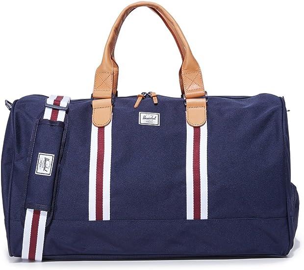 Amazon.com | Herschel Supply Co. Women's Novel Duffel Bag, Peacoat, One Size | Travel Duffels