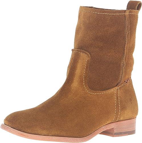 FRYE Women's Cara Short Suede Boot