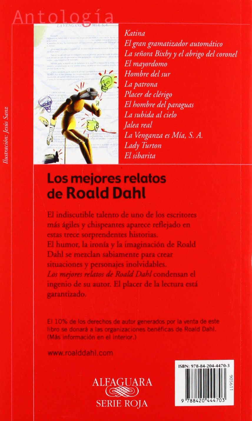 Amazon.com: Los Mejores Relatoes De Roald Dahl / The Best Stories of Roald Dahl (Spanish Edition) (9788420444703): Roald Dahl: Books