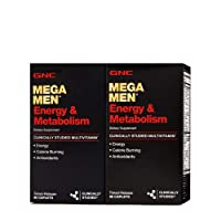 GNC GNC Mega Men Energy & Metabolism - Twin Pack