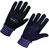 LADIES WINTER HORSE RIDING WIND RESISTANCE THERMAL EQUESTRIAN GIRL PURPLE GLOVES