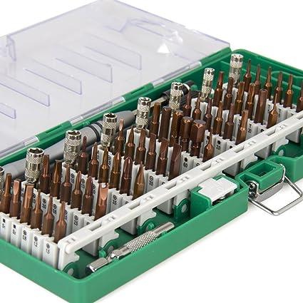 Destornillador Set 60 en 1 con 56 puntas Destornillador magnético de ...