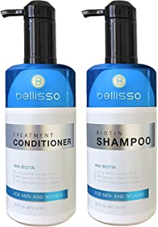 Amazon com: Hair Loss Shampoo and Conditioner | All-Natural