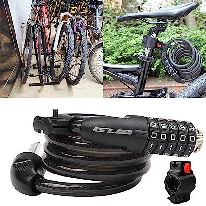 1d272c154e87 Shentesel Bicycle Locks Safe Cable Security Mountain Bike MTB ...