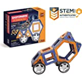 Magformers XL Cruisers Set (32-pieces) Magnetic Building Blocks, Educational Magnetic Tiles Kit , Magnetic Construction STEM