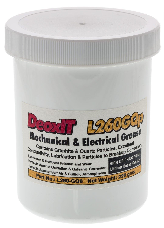 DeoxITL260 Grease L260GQp, jar graphite/quartz 226 g