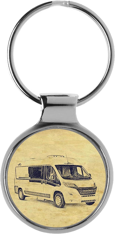 Kiesenberg Schlüsselanhänger Geschenke Für Malibu 600 Van Wohnmobil Fan A 6589 Auto