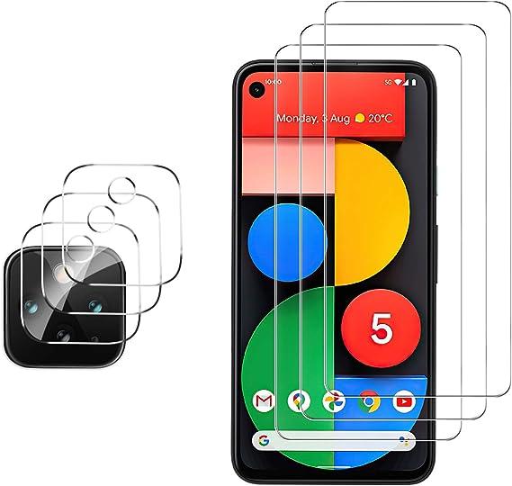 Cristal Templado de HD Anti-ara/ñazos GESMA 2 Piezas Protector de Pantalla Compatible con Xiaomi Mi 11 2 Piezas Protector de Lente de C/ámara