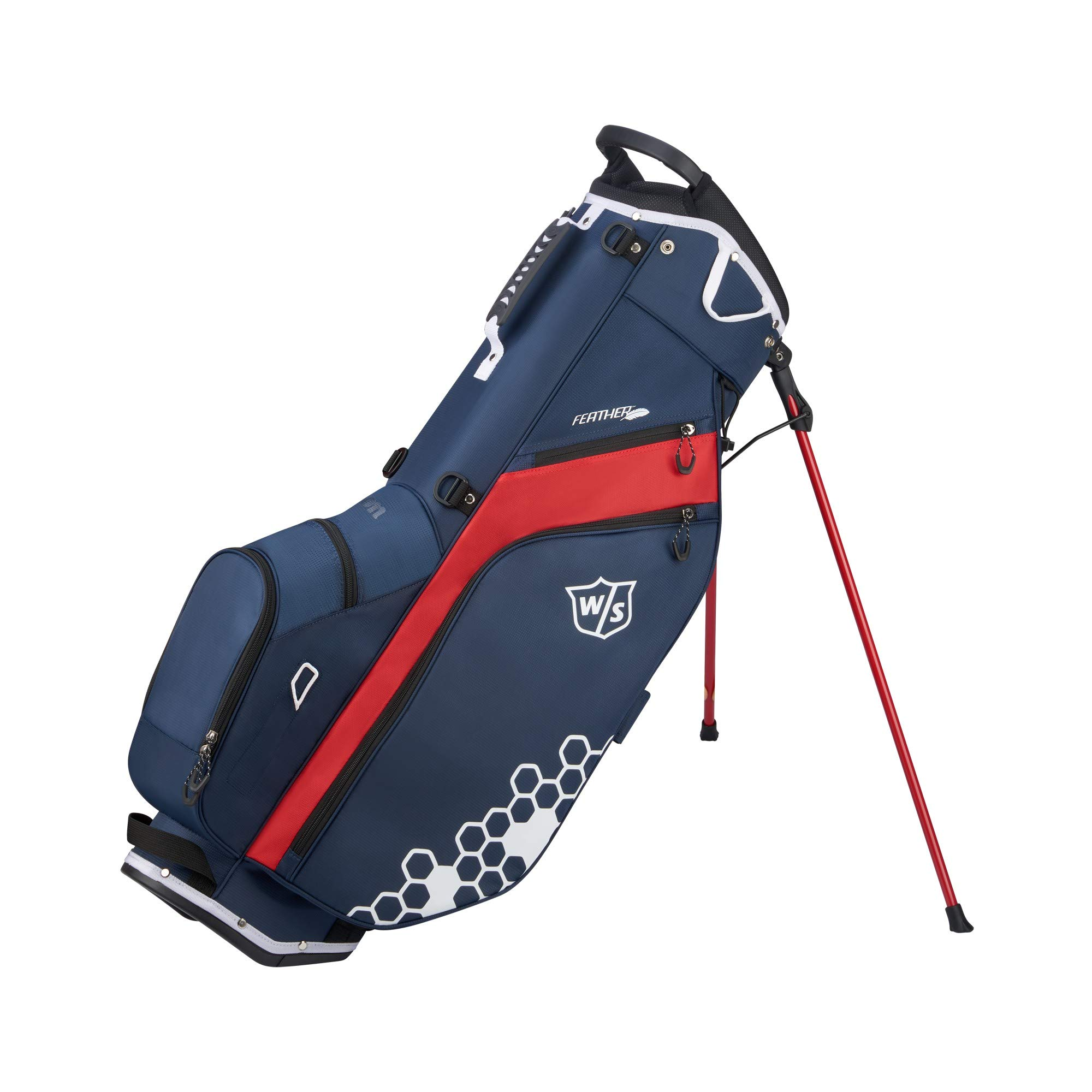 Wilson Staff Feather Carry Golf Bag, Navy