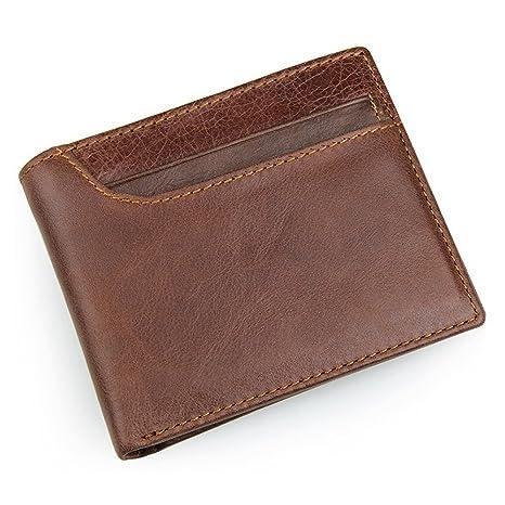 Billetera De Cuero Para Hombres Cartera de cuero genuino de ...
