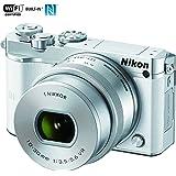 Nikon 1 J5 Digital Camera w/ NIKKOR 10-30mm f/3.5-5.6 PD Zoom Lens White (27708B) - (Certified Refurbished)