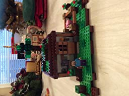 lego minecraft the first night instructions