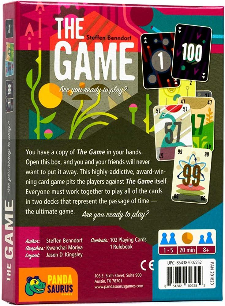 Pandasaurus Games The Game /& The Mind