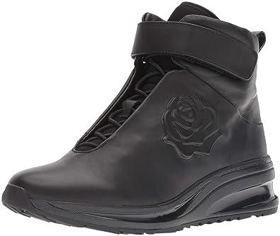5d68cf74761 Taryn Rose Women s Zanna Sneaker Black 5 M Medium US