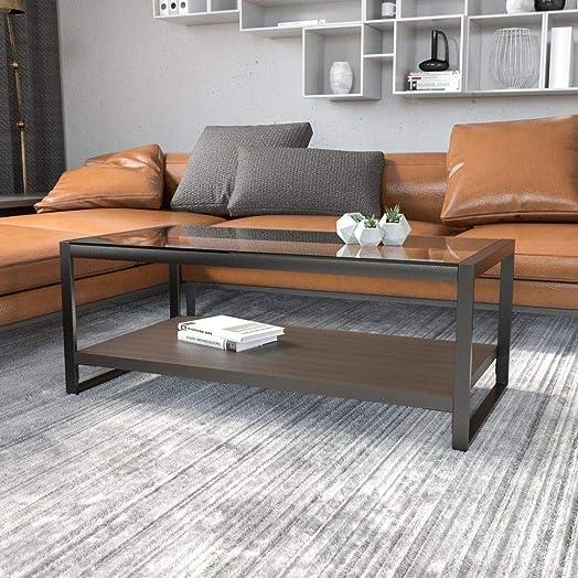 Editors' Choice: Flash Furniture Rosedale Glass Coffee Table