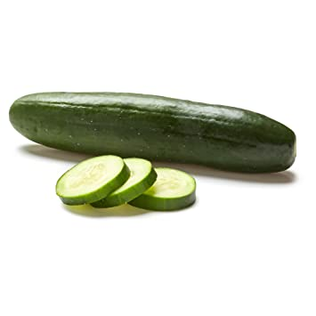 Organic Cucumber, One Medium: Amazon.com: Grocery & Gourmet Food