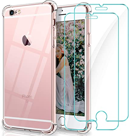 WINmall Coque Pour iPhone 6, Coque Pour iPhone 6S, 2 Pack Verre ...