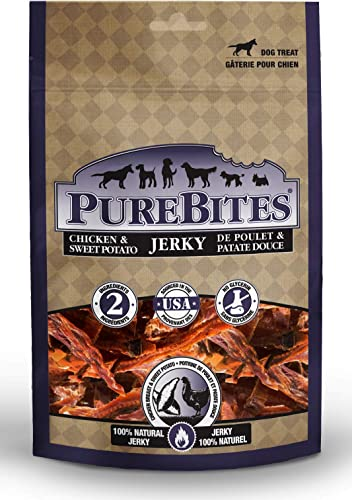 PureBites Chicken Sweet Potato Jerky for Dogs