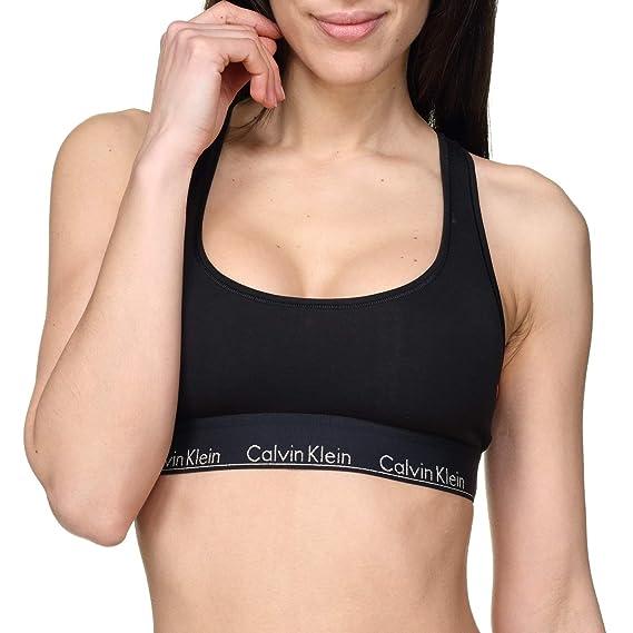 Calvin Klein 000QF5042E Top Mujeres Negro S: Amazon.es: Ropa y ...