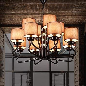 DHG Iluminación Interior Lámparas de araña Lámpara Colgante ...