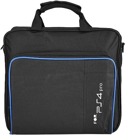 Ciglow Bolsa para PS4 Pro, PS4 Funda de Transporte portátil para PS4 Pro Game System Bolsa de Hombro de Viaje, Color Negro: Amazon.es: Electrónica