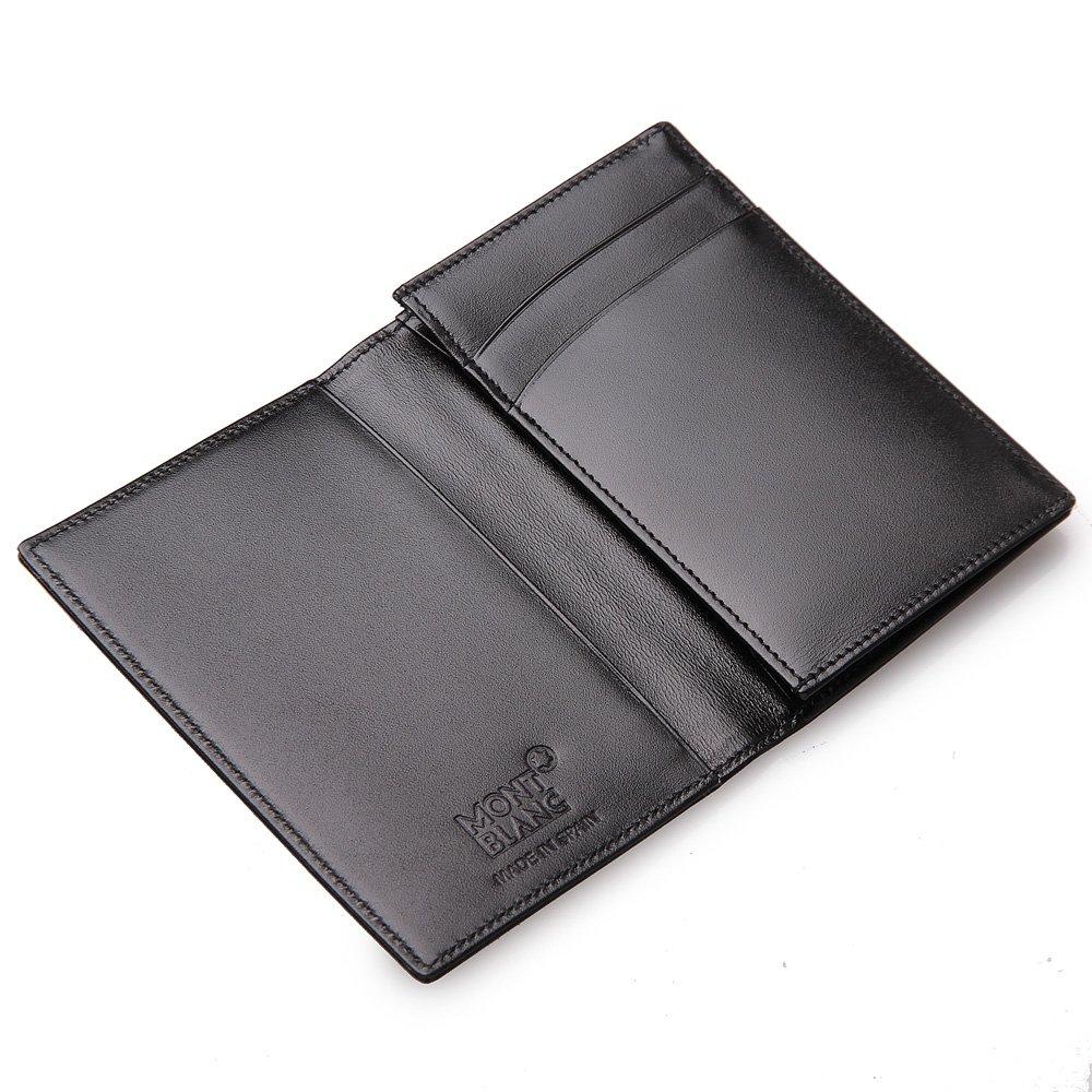 Amazon.com: Montblanc Meisterstuck Business Card Holder 14108 ...