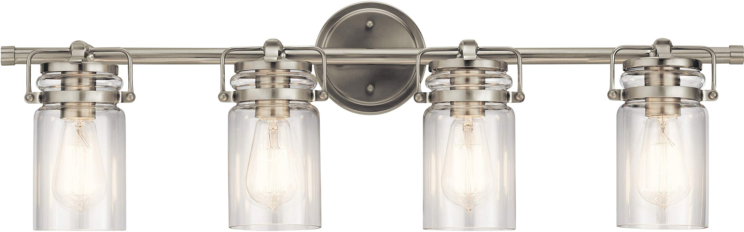 Kichler Lighting 45690NI Four Light Bath from The Brinley Collection
