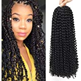 22 Inch 7 Packs Passion Twist Hair Long Inch Crochet Braids Hair Water Wave for Passion Twist Braiding Hair Extensions…