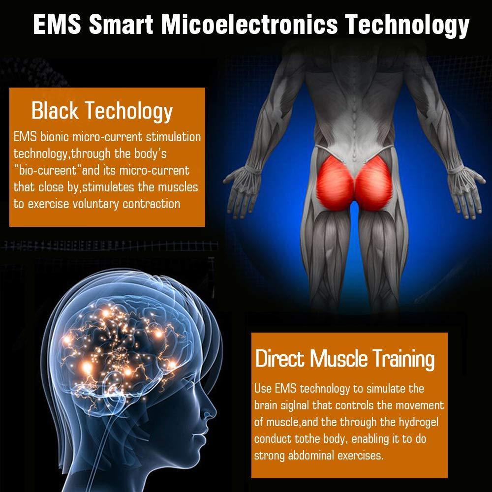 Moonssy EMS Electroestimulador Gluteos EMS Hips Trainer Entrenador de Cadera Hip para la Cadera Mujer Inteligente Hip Instructor Muscular