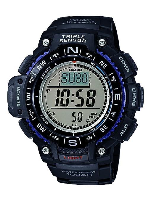 Casio SGW-1000-1AER - Reloj con correa de resina para hombre ...