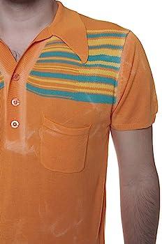Custo Barcelona Polo hombre, Color: Naranja, Talla: 3XL: Amazon.es ...