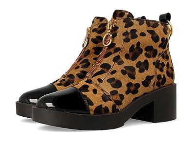 30555, Botas para Mujer, Marrón (Leopardo), 39 EU Gioseppo