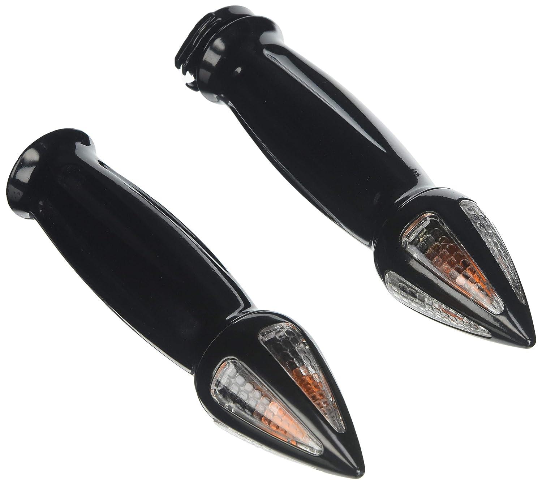 ATOM Black CNC Bar End Weights For KTM Ducati Suzuki Motorcycle Handlebar 13-17mm Diameter