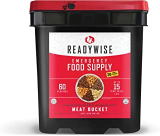 product image for Wise Company Emergency Food Supply, Freeze Dried Meat Variety, 15-Year Shelf Life, 60 Servings
