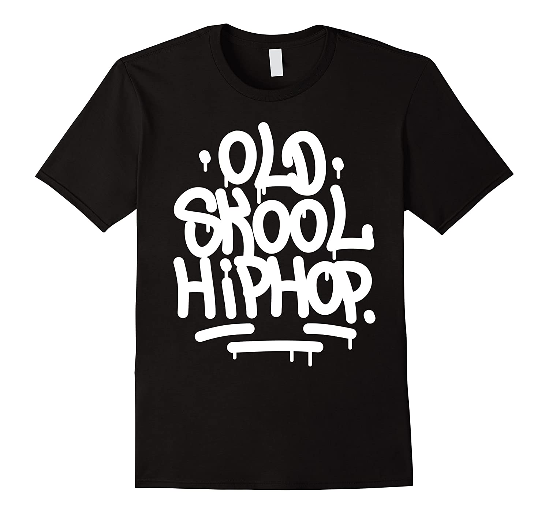 Old school hip hop 90s graffiti t shirt rt