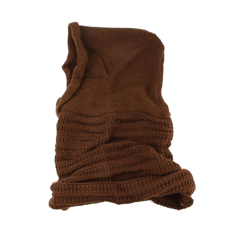 Winter Pullover Knit Loop Tube Infinity Hood Cowl Turtleneck Scarf ...